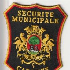 Militaria: SUIZA - POLICIA DE CAROUGE . Lote 120688995