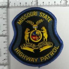 Militaria: PARCHE MISSOURI STATE HIGHWAY PATROL. Lote 122697207
