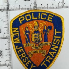 Militaria: PARCHE POLICE NEW JERSEY TRANSIT . Lote 122700027