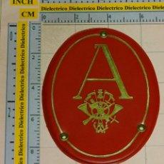 Militaria: PARCHE MILITAR PLÁSTICO. ACADEMIA GENERAL MILITAR.. Lote 122830943