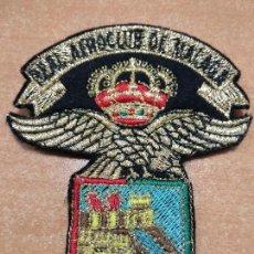 Militaria: ESCUDO DEL REAL AEROCLUB DE MALAGA. Lote 124160383