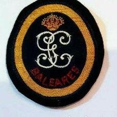 Militaria: GUARDIA CIVIL PARCHE SERVICIO MARÍTIMO BALEARES. Lote 140008845