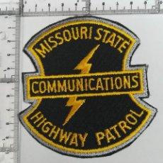 Militaria: PARCHE MISSOURI STATE COMMUNICATIONS . Lote 124401159