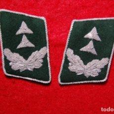 Militaria: DISTINTIVOS DE CUELLO DE OFICIAL ADMINISTRATIVO DE LA LUFTWAFFE ALEMANA.SEGUNDA GUERRA MUNDIAL. Lote 127231975