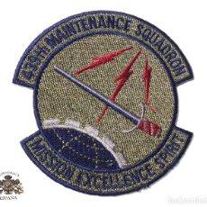 Militaria: PARCHE AMERICANO - 439 TH MAINTENANCE SQUADRON MISSION EXCELLENCE SPIRIT. Lote 127876467