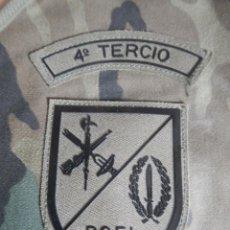 Militaria: BRAZALETE MIMETIZADO DE LA BOEL 4º TERCIO DE LA LEGION. Lote 127889767