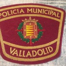 Militaria: ESCUDO POLICÍA MUNICIPAL VALLADOLID. Lote 127936940