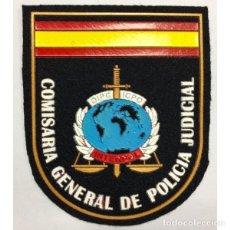 Militaria: PARCHE COMISARÍA GENERAL POLICÍA NACIONAL DE LA POLICIA JUDICIAL . Lote 136534425