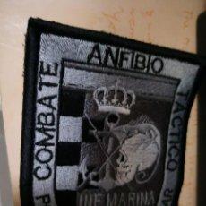 Militaria: PARCHE INF MARINA ANFIBIO COMBATE TACTICO POR TIERRA Y POR MAR. Lote 128291923