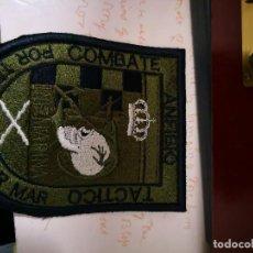 Militaria: PARCHE INF MARINA ANFIBIO COMBATE TACTICO POR TIERRA Y POR MAR. Lote 128292051