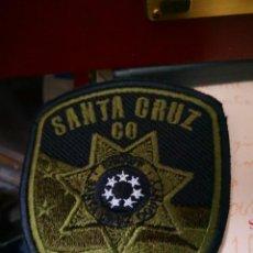 Militaria: PARCHE SHERIFF SANTA CRUZ GO. Lote 128292259