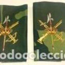 Militaria: HOMBRERA-MANQUITO DE LA LEGION BORDADO EN TELA EN COLOR CAMUFLAJE -PAR-. Lote 71541535