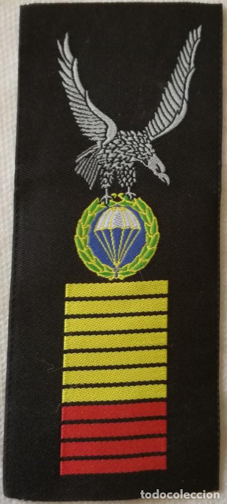 PARCHE PERMANENCIA EN BRIGADA PARACAIDISTA. BRIPAC. EJÉRCITO ESPAÑOL. ESPAÑA (Militar - Parches de tela )