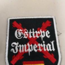Militaria: PARCHE ESTIRPE IMPERIAL - ASPAS SAN ANDRES - BANDERA. Lote 130290238