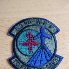 Militaria: PARCHE USAF 63 RD AEF. AEROMEDICAL AIRLIFT FLIGHT TO FLY AND SAVE. Lote 130880172