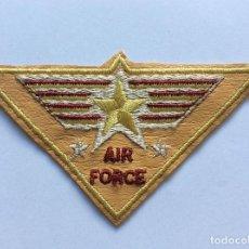 Militaria: PARCHE BORDADO AIR FORCE. Lote 131099896