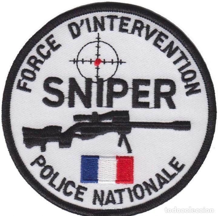 parche policia frances francotirador swat snipe - Comprar Parches de ...