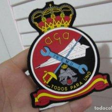 Militaria: EJERCITO DEL AIRE - AGA 79 EMU - PARCHE ESCUDO EMBLEMA. Lote 131724182