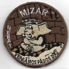 Militaria: PARCHE EJERCITO DEL AIRE MIZAR HERAT MISION INTERNACIONAL . Lote 131995150