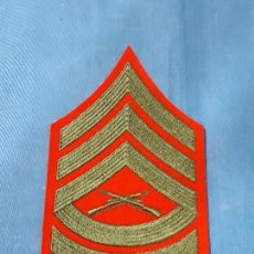 Militaria: ANTIGUO PARCHE MILITAR BORDADO. Lote 132426498