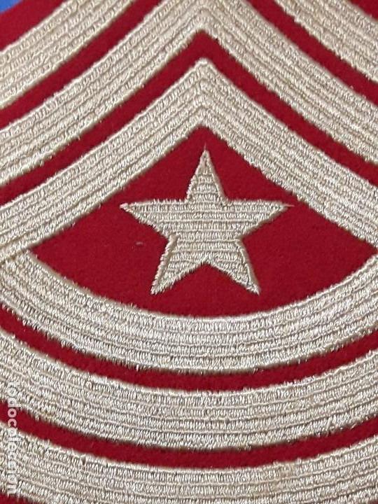 Militaria: ANTIGUO PARCHE MILITAR BORDADO - Foto 2 - 132426666