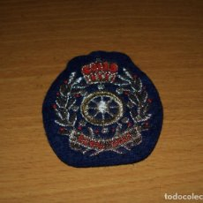 Militaria: ROYAL NAVY. PARCHE DE TELA TIMÓN / EMBROIDERED PATCH TIMONE 75 X 58 MM. Lote 132487670