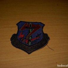 Militaria: SEVENTH AIR DIVISION (FUERZA AÉREA USA). PARCHE DE TELA / EMBROIDERED PATCH 75 X 75 MM. Lote 132487838