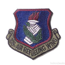 Militaria: PACHE MILITAR, AMERICANO - 108 TH AIR REFUELING WING. Lote 132523226