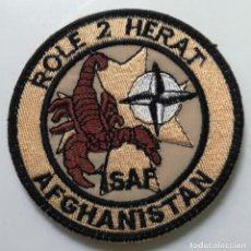 Militaria: PARCHE DESTACAMENTO ROLE 2 HERAT, EJÉRCITO DEL AIRE. Lote 132717846