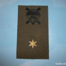 Militaria: PARCHE PARA CHALECO DE SUBTENIENTE DE LA BRIPAC. Lote 134016262