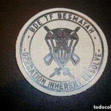 Militaria: PARCHE BRIPAC BASE BESMAYAH IRAK Nª 2. Lote 134025774