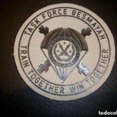 Militaria: PARCHE BRIPAC BASE BESMAYAH IRAK Nª 6. Lote 134025826