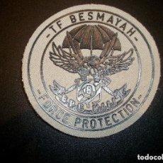 Militaria: PARCHE II BRIPAC BASE BESMAYAH IRAK. Lote 134025990