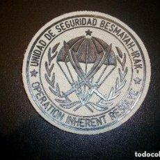 Militaria: PARCHE PM DE LA BRIPAC BASE BESMAYAH IRAK Nª 3. Lote 134026038