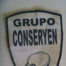 Militaria: PARCHE DE EMPRESA DE SEGURIDAD PRIVADA : GRUPO CONSERYEN. Lote 134077097