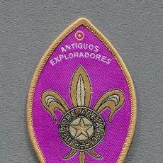 Militaria: INSIGNIA SCOUT - CLUB ANTIGUOS EXPLORADORES DE CIUDAD REAL - SCOUTS - ESCULTISMO . Lote 134329378