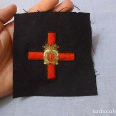 Militaria: * ANTIGUO PARCHE DE MEDALLA ORDEN DE LA NOBLEZA CATALANA, PARA OFICIAL, ORIGINAL. DE CASTELLS. ZX. Lote 135032790