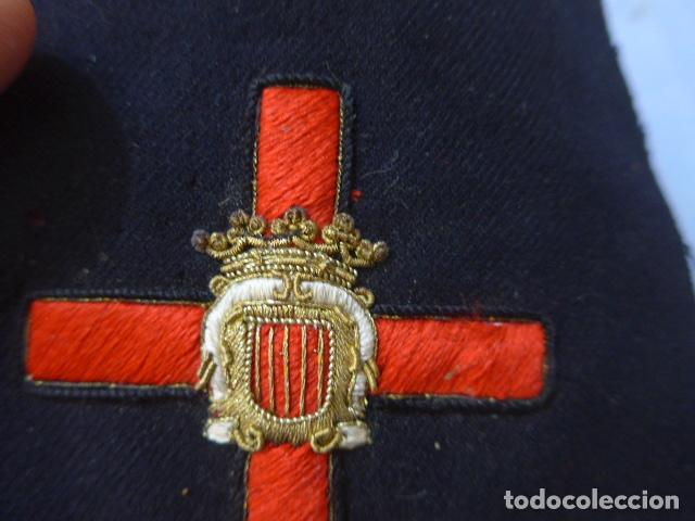 Militaria: * Antiguo parche de medalla orden de la nobleza catalana, para oficial, original. De Castells. ZX - Foto 5 - 135032790
