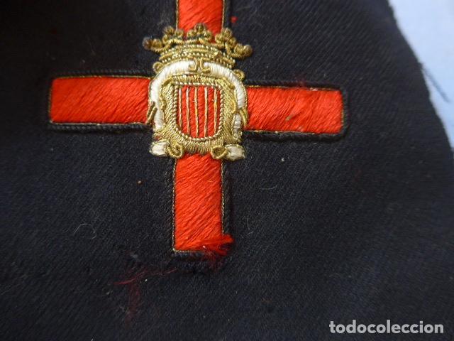 Militaria: * Antiguo parche de medalla orden de la nobleza catalana, para oficial, original. De Castells. ZX - Foto 6 - 135032790