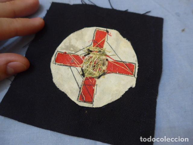 Militaria: * Antiguo parche de medalla orden de la nobleza catalana, para oficial, original. De Castells. ZX - Foto 7 - 135032790
