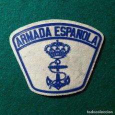 Militaria: PARCHE EMBLEMA DISTINTIVO ARMADA ESPAÑOLA MARINA. Lote 135526118