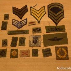 Militaria: LOTE DE 21 ANTIGUO PARCHE AMERICANO, ESTADOS UNIDOS. PARCHES ORIGINALES. VIETNAM ?. Lote 136067050