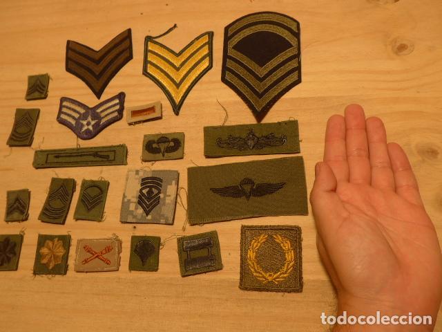 Militaria: Lote de 21 antiguo parche americano, estados unidos. Parches originales. Vietnam ? - Foto 2 - 136067050