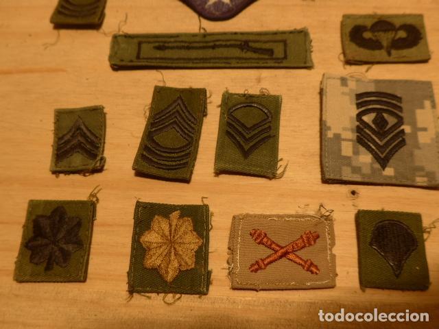 Militaria: Lote de 21 antiguo parche americano, estados unidos. Parches originales. Vietnam ? - Foto 4 - 136067050