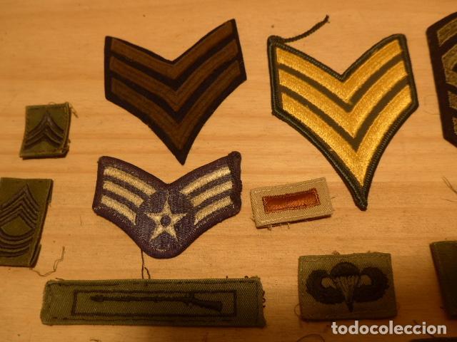 Militaria: Lote de 21 antiguo parche americano, estados unidos. Parches originales. Vietnam ? - Foto 5 - 136067050