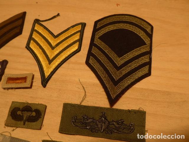 Militaria: Lote de 21 antiguo parche americano, estados unidos. Parches originales. Vietnam ? - Foto 6 - 136067050