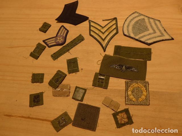 Militaria: Lote de 21 antiguo parche americano, estados unidos. Parches originales. Vietnam ? - Foto 8 - 136067050