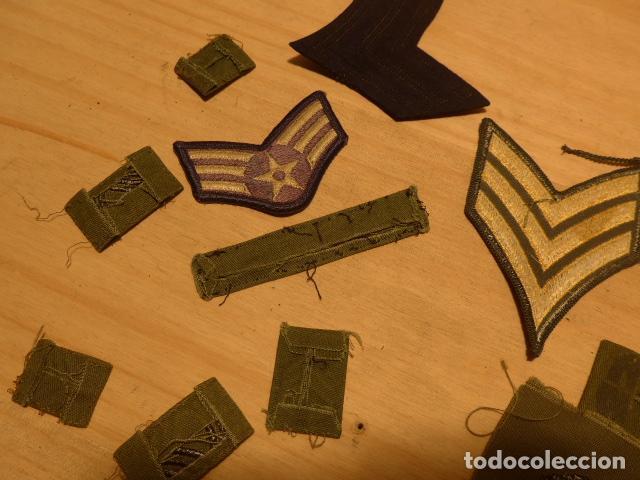Militaria: Lote de 21 antiguo parche americano, estados unidos. Parches originales. Vietnam ? - Foto 9 - 136067050