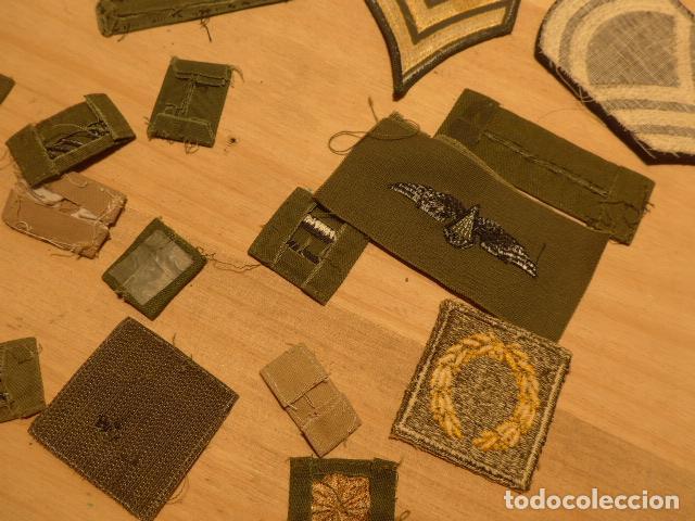 Militaria: Lote de 21 antiguo parche americano, estados unidos. Parches originales. Vietnam ? - Foto 10 - 136067050