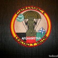 Militaria: PARCHE TRANSMISIONES BRIPAC EN AFGANISTAN+PARCHE GASTADOR 1º BANDERA ROGER DE FLOR. Lote 136212850